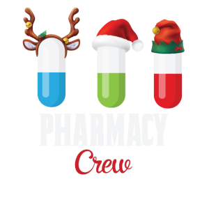 Pharmacy Crew Funny Christmas Gift for Pharmacist
