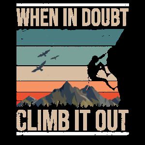 Retro Kletter Bouldern Boulder
