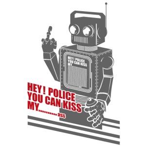hey police dark knight