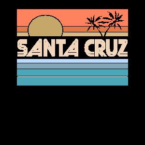 Santa Cruz California Sonnenuntergang 70er 80er