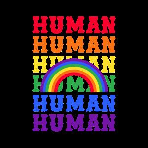 LGBT Human Rainbow