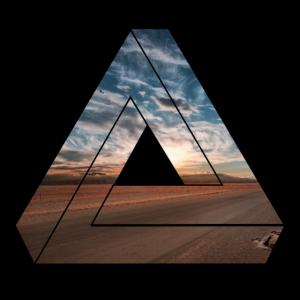 Dreieck / Natur / Geschenk
