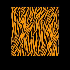 Tiger Kostüm gestreift Fasching Karneval Tier Kost