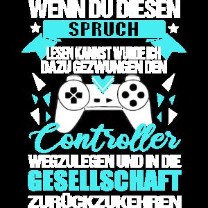 Gamer gaming Geschenk Zocker gamerin games Spruch