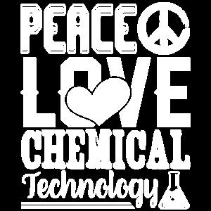 Peace Love Chemical Technology Shirt