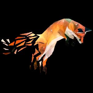 Fuchs geometrisch Motiv