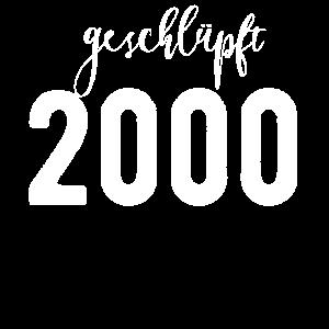 Geburtstag geschlüpft 2000