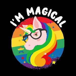 LGBT Unicorn Magical
