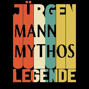 Retro Jürgen Mann Mythos Legende Geburtstag