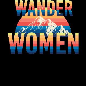 Wander Women Bergsteiger