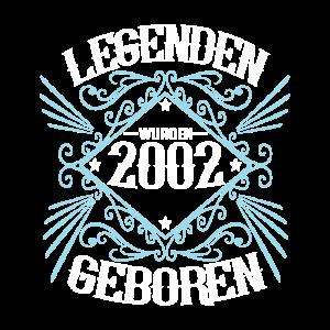 2002 Geburtstag Legenden geboren