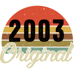 2003 Original Geburtstag