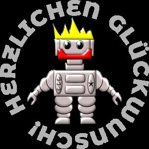 HERZLICHEN GLUECKWUNSCH MAENNER MANN JUNGE SOHN