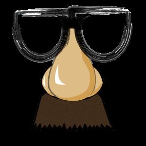 Gesichtsmaske - Nase und Brille