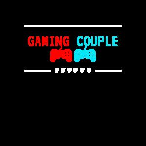 Gaming Couple Lustige Geschenkidee für Gamer Paare