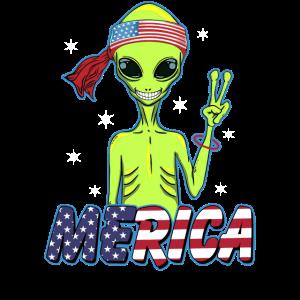 Merica Alien