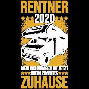 Rentner 2020 Camper Wohnwagen zweites Zuhause