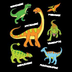 Dino Bekannte Dinosaurier mit Namen