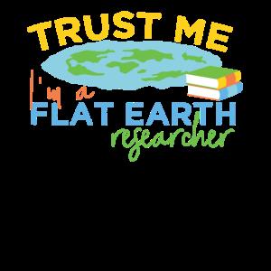 Flache Erde Wissenschaftler