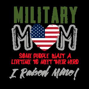 Militärmutter - Militärische Unterstützung