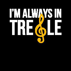 Sopran; Sängerchor, ich bin immer in Höhen