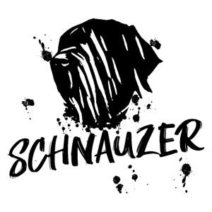 POSTER Riesenschnauzer / Schnauzer Design Hunde
