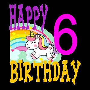 6.Kinder Geburtstag Einhorn Geschenk