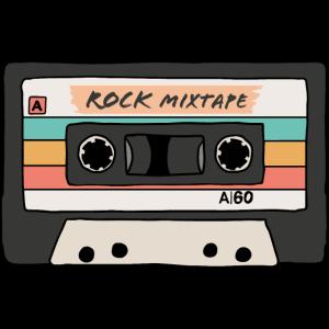 Vintage Rock Mixtape Kassette