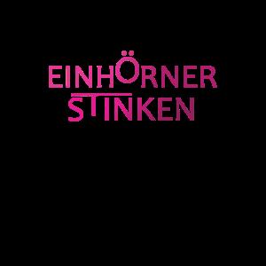 Einhoerner stinken