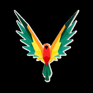 Papagei Polygon
