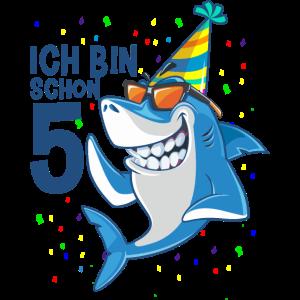 5. Geburtstag Hai