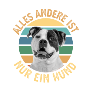 American Bulldog für Hunde Fans oder Besitzer