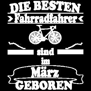 Fahrradfahrer Fahrrad fahren März Geschenkidee