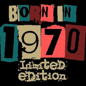 1970 Jahrgang Geburtstag Geschenkidee