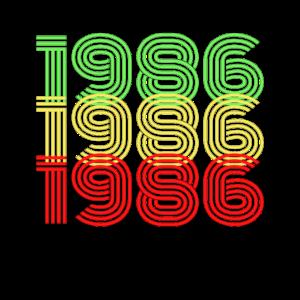 original seit 1986 geburtstag 35jahre alt geschenk
