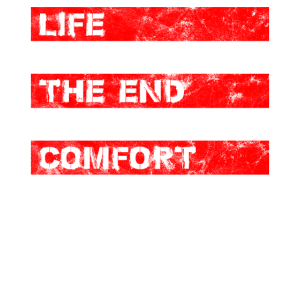 Life Begins At The End Of Your Comfort Zone Vintag