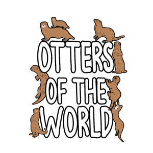 Otters Of The World Seeotter Flussotter Geschenk
