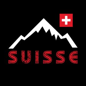 Schweizer Maske - Mundschutz mit Schweizer Flagge