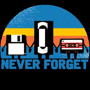 Nie vergessen