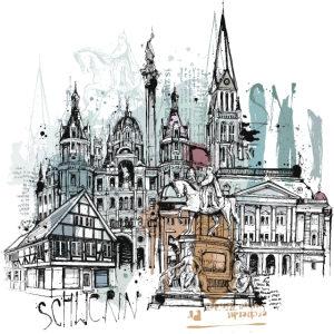 Schwerin Illustration