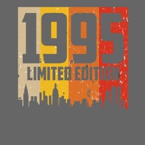 Vintage Geburtstag Limited Edition Jahrgang 1995