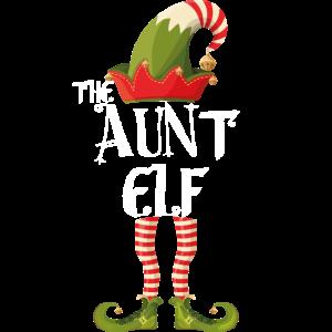 die Tante Elfenfamilie passend zu Weihnachten