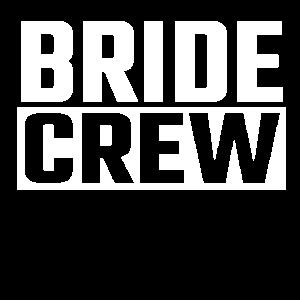 Junggesellinnenabsch Gruppenshirt Bride Crew Braut