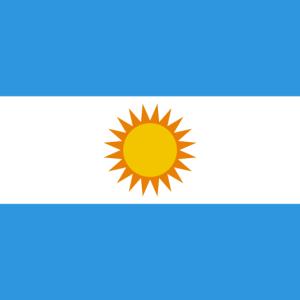 Argentinien benutzerdefinierte Maske