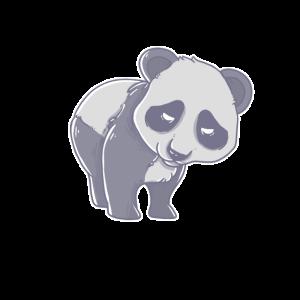 Pandabär Niedliches Bambusbär-Tier
