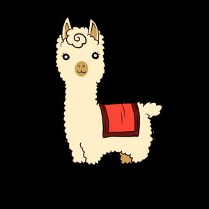 Alpaka Lama alpaka Kamel Tier süß flauschig
