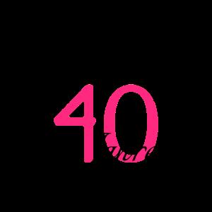 40. Geburtstag Geschenkidee