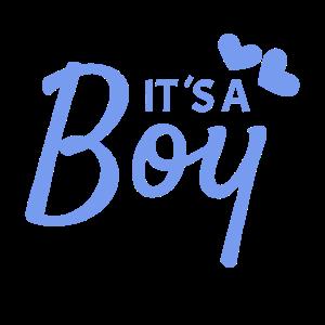 It is a boy Geschenk Neugeborenes
