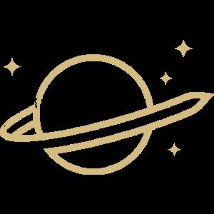 space sci fi retro swirl