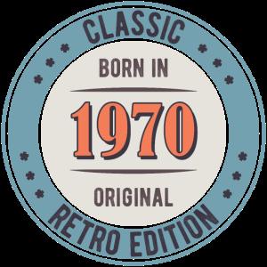 Born in 1970 CLASSIC RETRO EDITION